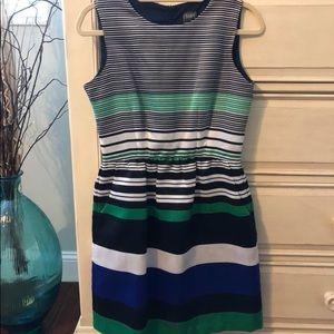 Striped Cocktail dress
